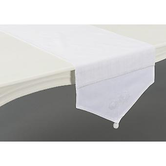 Amadeus Snow Flower Table Runner (Home , Textile , Table linens)