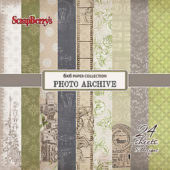 ScrapBerry's Photo Archive Paper Pack 6