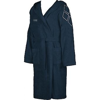 arena Zodiaco coat Blau sauna coat bathrobe Terry cloth