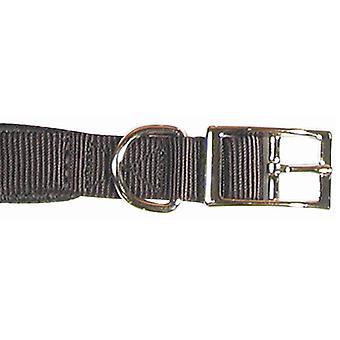 Klassische weiche Schutz Nylon gepolsterte Kragen schwarz 26 X 1