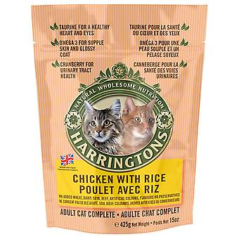 Harringtons komplet kat kylling & ris 425g (pakke med 6)