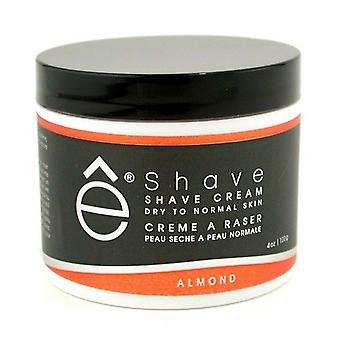 EShave Shave Cream - Almond 120g/4oz