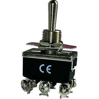 Toggle switch 250 Vac 16 A 2 x On/Off/On EMAS MA12