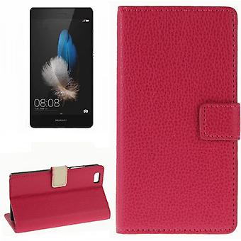 Pocket wallet premium Pink for Huawei Ascend P8 Lite