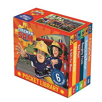 Fireman Sam Pocket Library (Board book) by Egmont Publishing Uk