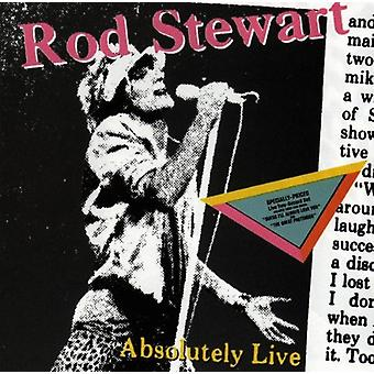 Rod Stewart - Absolutely Live [CD] USA import
