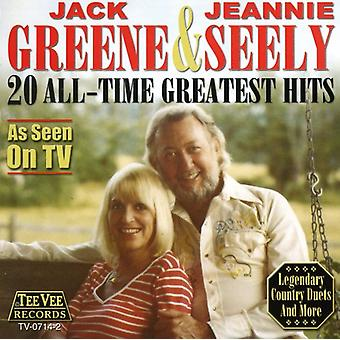Greene/Seely - 20 alle tid Greatest Hits CD] USA import