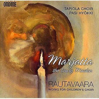E. Rautavaara - Einojuhani Rautavaara: Marjatta [CD] USA import
