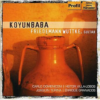 Domeniconi/Villa-Lobos/Turina/Granados - importación de Estados Unidos Koyunbaba [CD]
