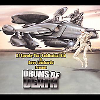DJ Spooky vs Dave Lombardo - dødens trommer [CD] USA import