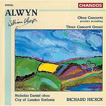 W. Alwyn - Alwyn: Oboe Concerto; Three Concerti Grossi [CD] USA import