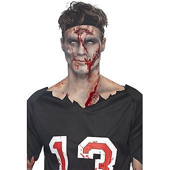 Makeup set sår former med flytande latex och blod 5 sår