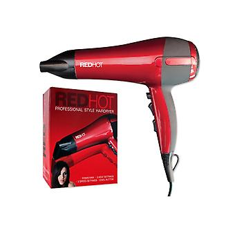 Red Hot Red Hot Professional Style HairDryer