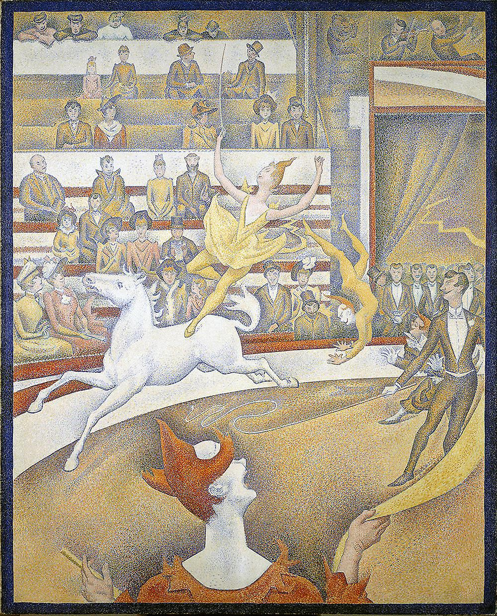 Georges Seurat - il Circus Poster Stampa giclée