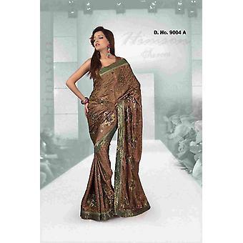 Aashiyana-Fancy festival slijtage ontwerper Georgette Sari met opeenvolging werk