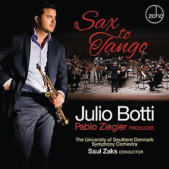 Botti, Julio / Ziegler, Pablo - Sax til Tango [CD] USA import