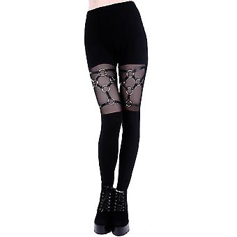 Restyle - Kabelbaum LEGGINGS - Damen Leggings - schwarz