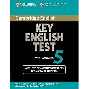 Cambridge Key English Test 5 Students Book with Answers by Cambridge ESOL
