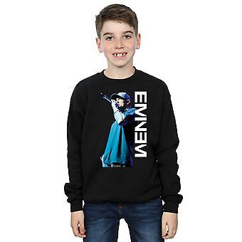 Eminem Boys Mic Pose Sweatshirt