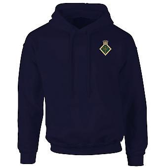 HMS Neptune geborduurd Logo - officiële Koninklijke Marine Hoodie Hooded Sweatshirt