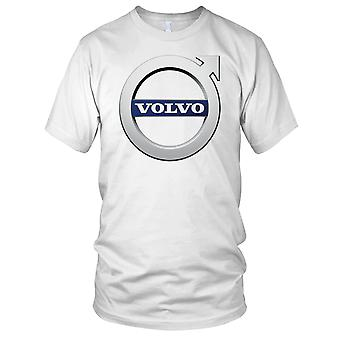 Volvo Motor Car Logo Mens T Shirt