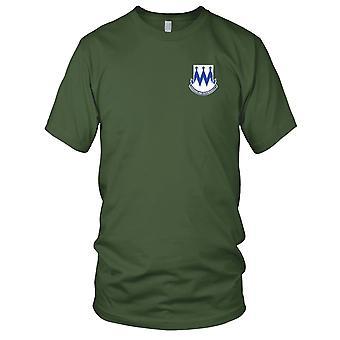 Ejército de los EE. UU. - 86o Regimiento de Infantería Bordado Parche - Versión A Camiseta para Hombre