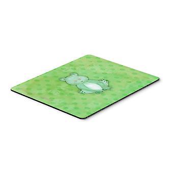 Polkadot Frog Watercolor Mouse Pad, Hot Pad or Trivet