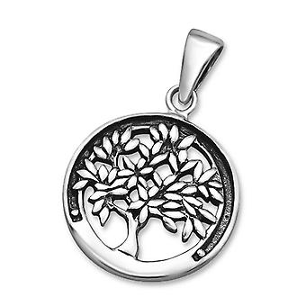 Tree Of Life - 925 Sterling Silver Plain Pendants
