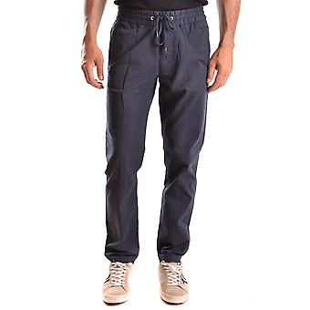 Woolrich men's MCBI314022O Blau cotton pants