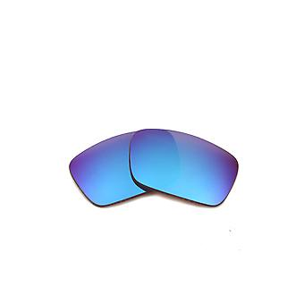 Best SEEK Polarized Replacement Lenses for Oakley FUEL CELL Blue Mirror