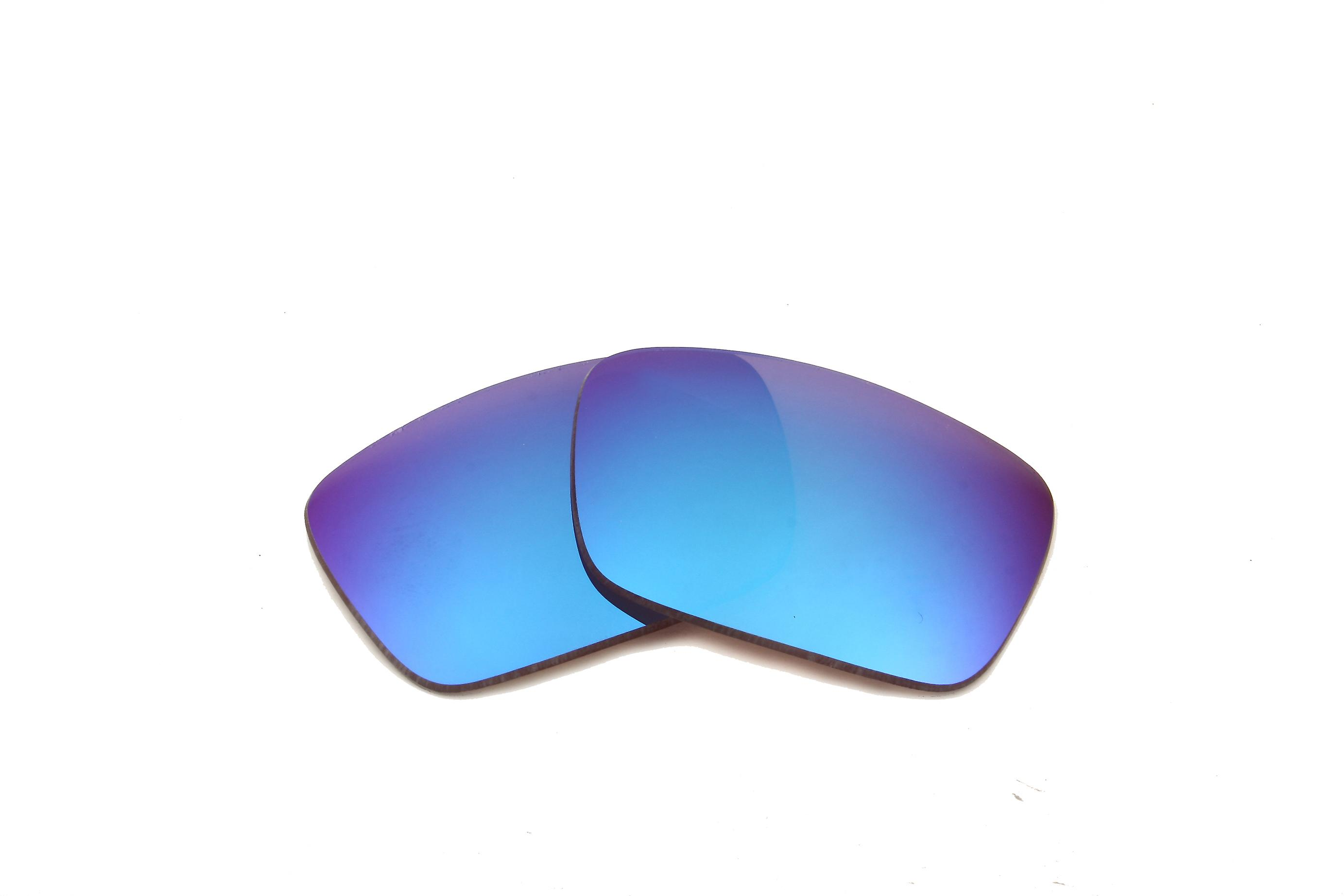 Best SEEK Polarized Replacement Lenses for Oakley FUEL CELL Brown Blue Mirror