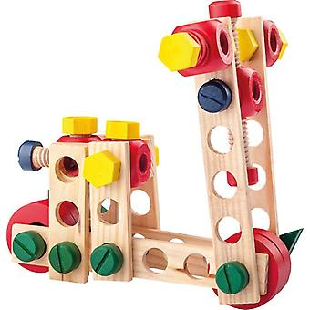 Woody Constructorset 100 PCs in ton95001