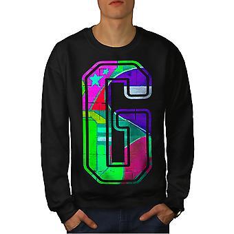 Letter G Graffiti Men BlackSweatshirt | Wellcoda