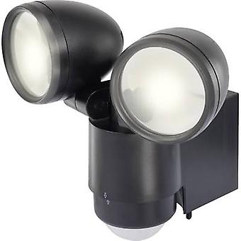 LED outdoor floodlight (+ motion detector) 10 W Daylight white Renkforce