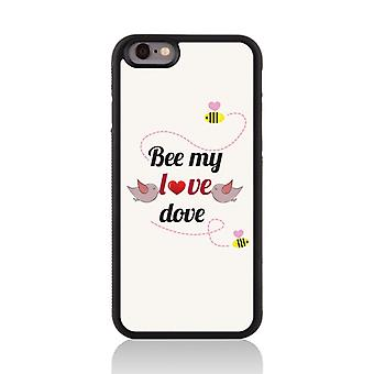 Call Candy Apple iPhone 7 Be My Love Dove 2D Printed Case