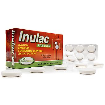 Soria Natural Inulac 30 Tablets (Vitamins & supplements , Enzymes)
