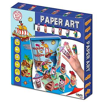 Cayro Art Paper Pirates (Babies and Children , Toys , Educative And Creative)
