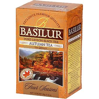 Basilur Tea - Autumn Tea - Black Tea - 20 Tea Bags