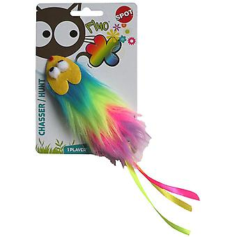 Agrobiothers Catnip Mouse Fluo Cat Toy (Cats , Toys , Plush & Feather Toys)