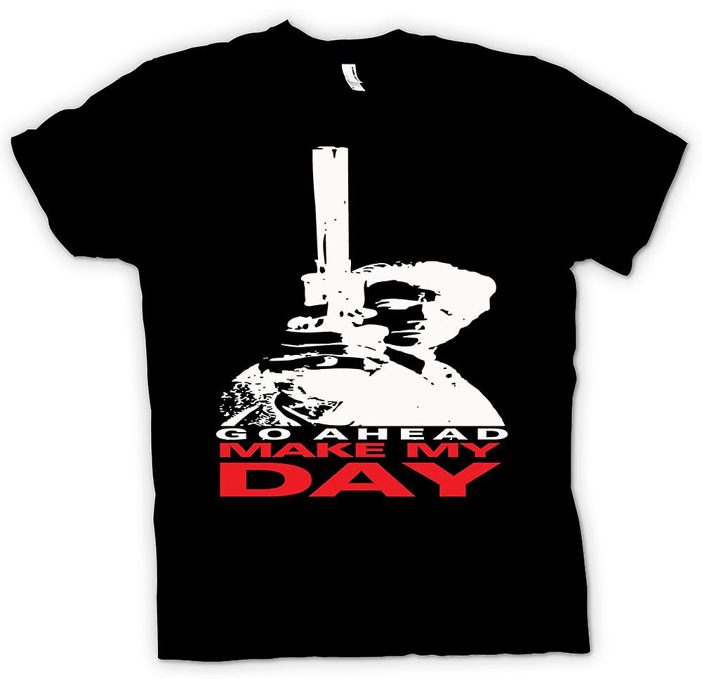Femmes T-shirt - Dirty Harry Make My Day - Clint