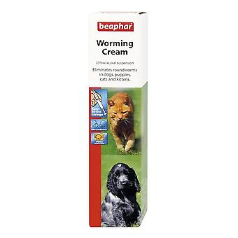 Beaphar Worming Cream For Dogs, Puppies, Cats, Kittens