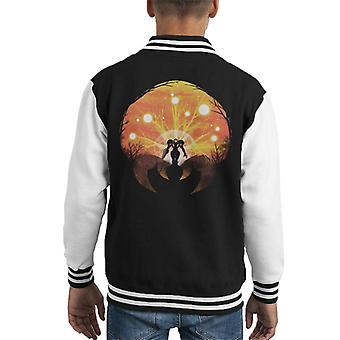 Metroid Collage Kid's Varsity Jacket