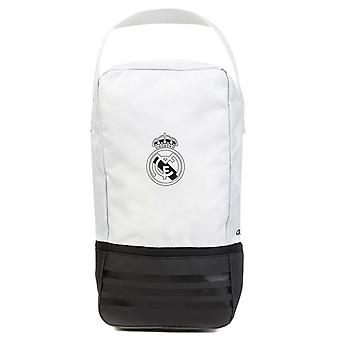 2018-2019 real Madrid Adidas Shoe Bag (hvit)