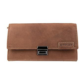 WENGER purse wallet purse Brown 3234 waiter Exchange