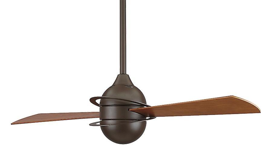 Ceiling Fan THE INVOLUTION Bronze 132cm   52& 034;