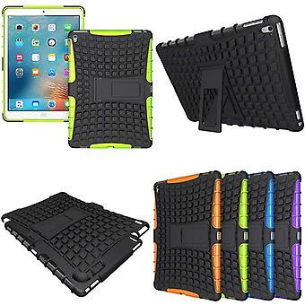 Hybrid utendørs beskyttende deksel tilfelle grønn iPad Pro 9,7 tommers saken