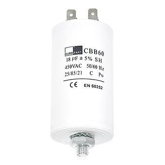 Condensador de funcionamiento del universal 18UF microfaradio aparato Motor arranque