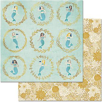 Down By The Sea Double-Sided Cardstock 12