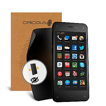 Celicious Privacy 2-Way Visual Black Out Screen Protector for Amazon Fire Phone
