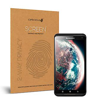 Celicious Privacy 2-Way Visual Black Out Screen Protector for Lenovo S930
